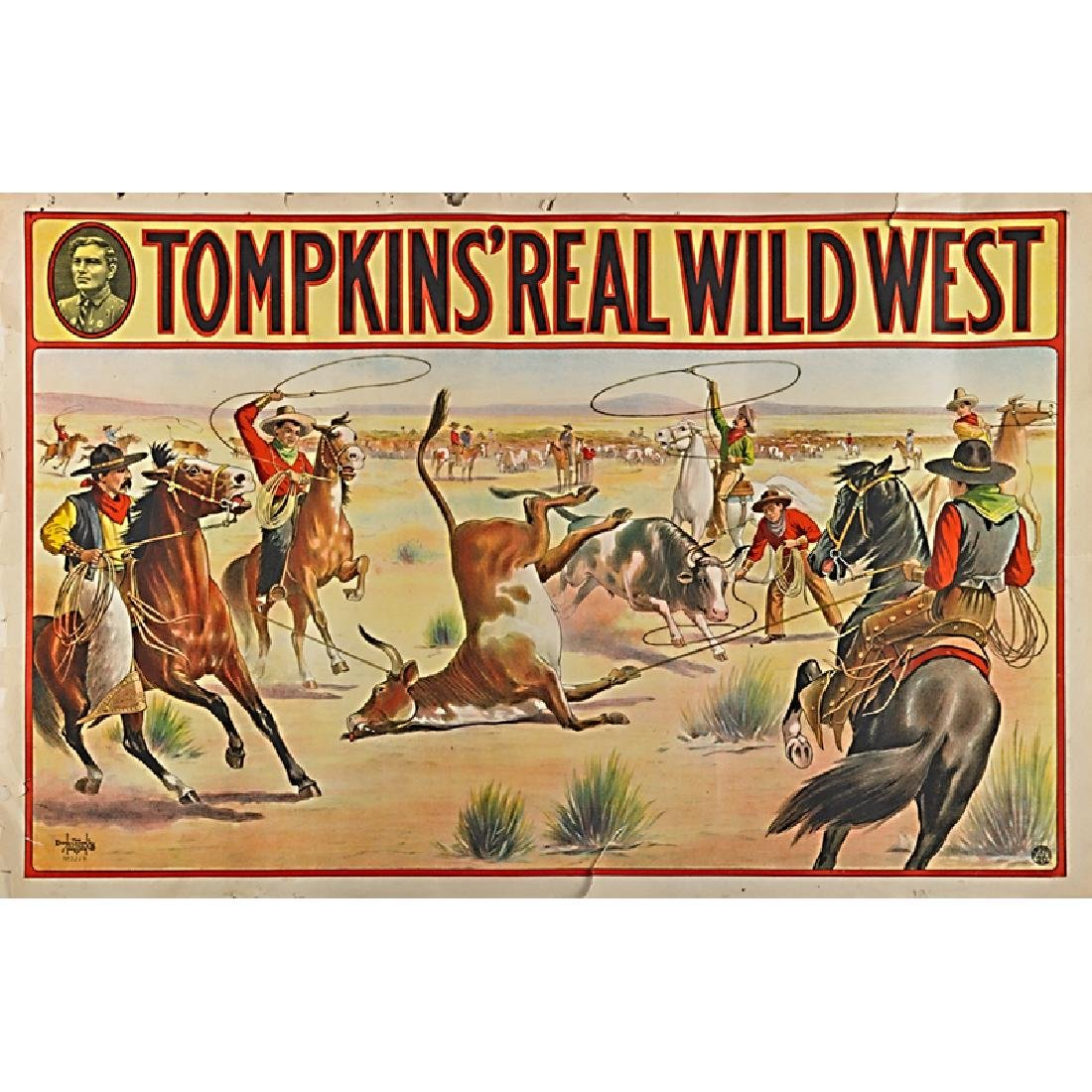 TOMPKINS' REAL WILD WEST POSTERS - 5