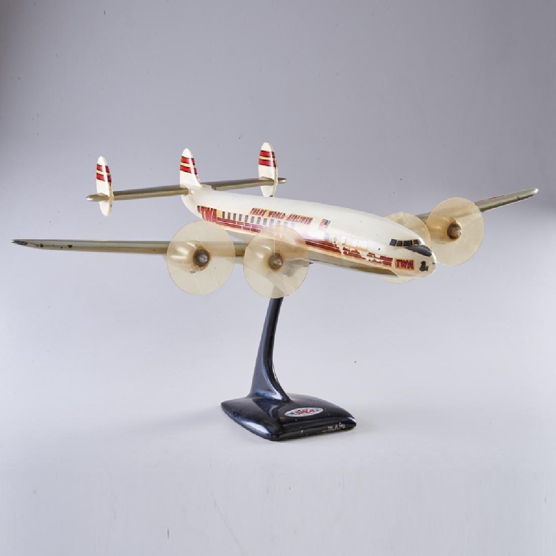 TWA MODEL AIRPLANE