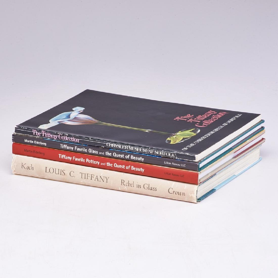 TIFFANY REFERENCE BOOKS