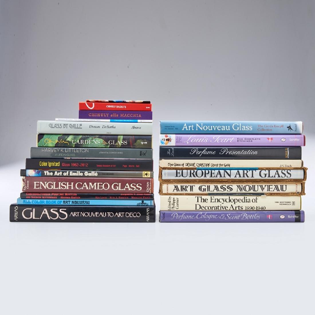 ART GLASS, ETC. REFERENCE BOOKS