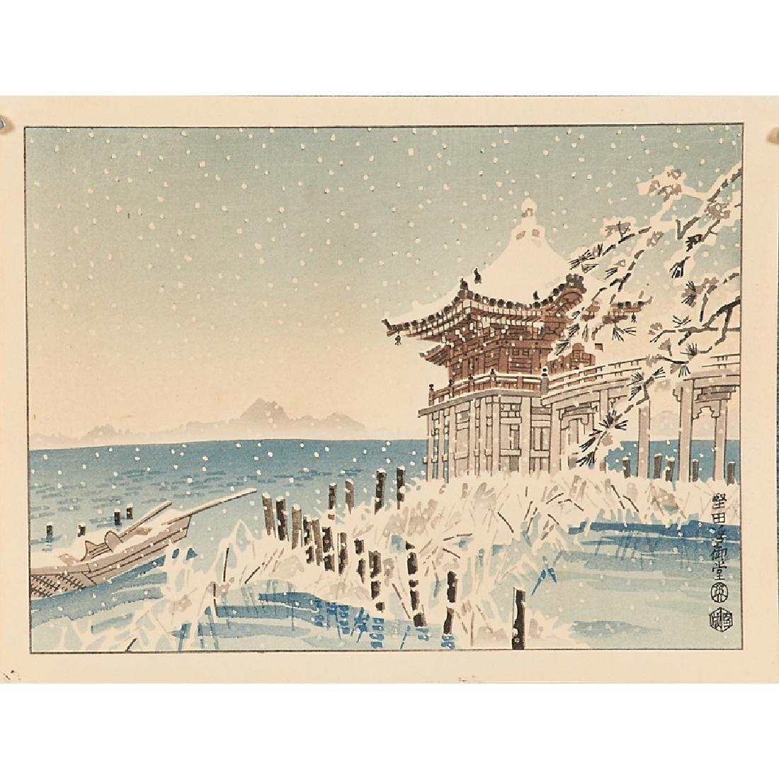 JAPANESE WOODBLOCK PRINTS - 10