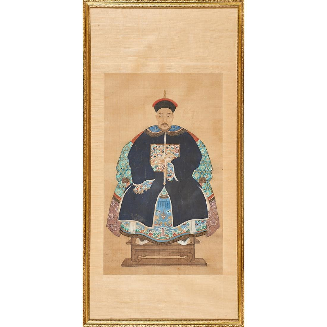 CHINESE ANCESTRAL PORTRAITS