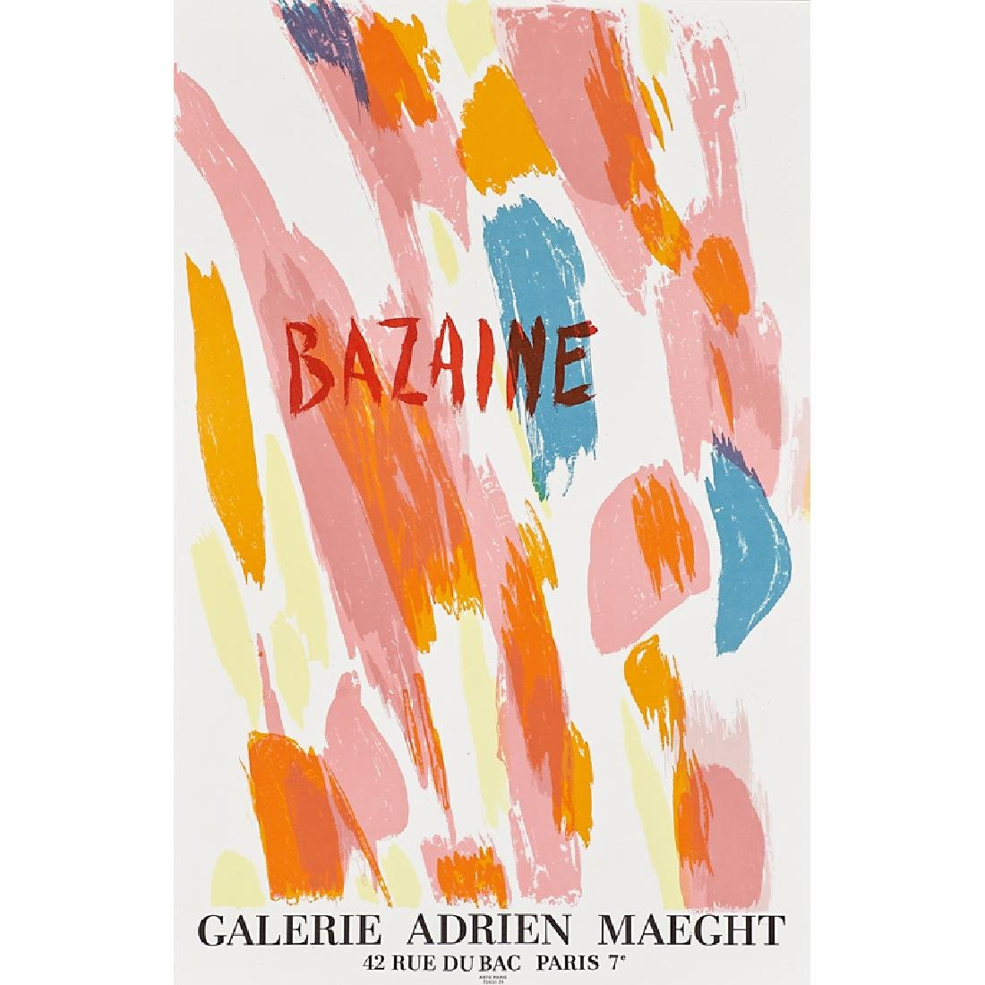 GALERIE MAEGHT EXHIBITION POSTERS