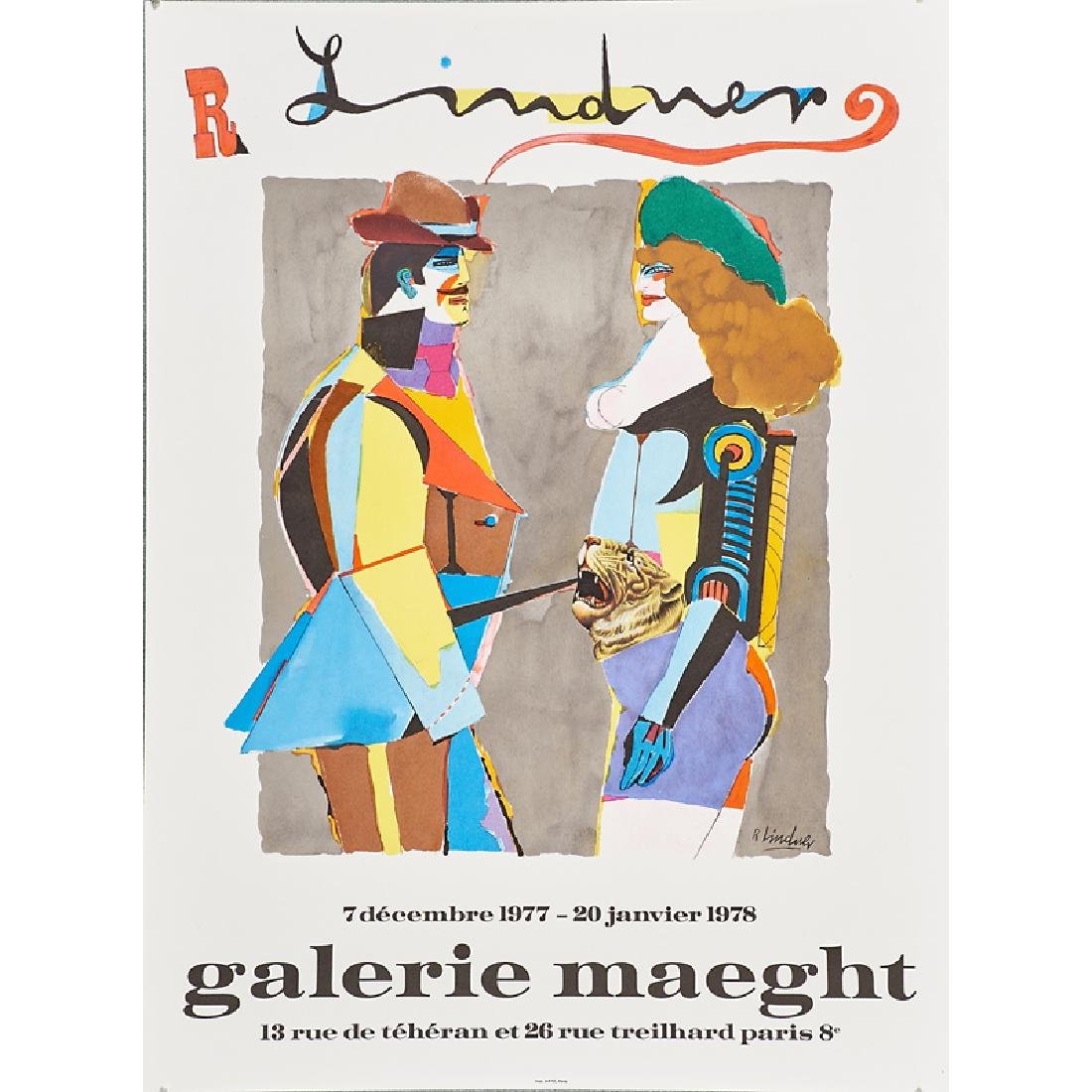 GALERIE MAEGHT EXHIBITION POSTERS - 4