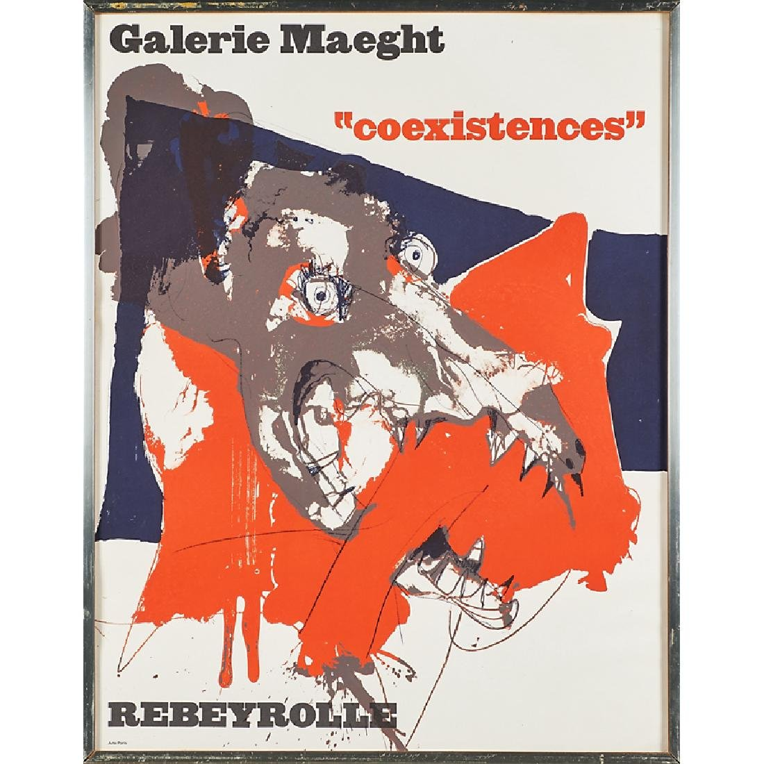 GALERIE MAEGHT EXHIBITION POSTERS - 5