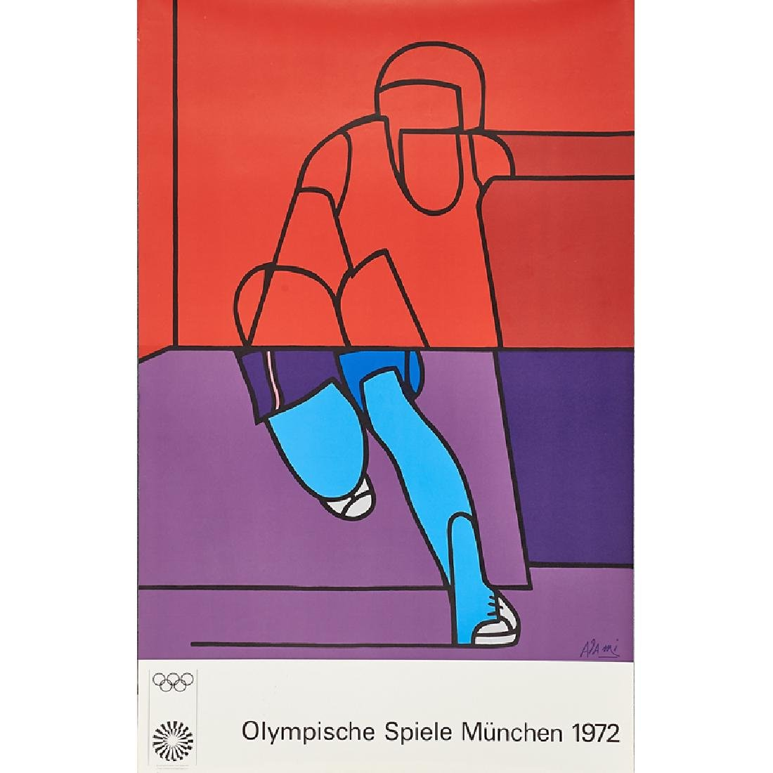1972 MUNICH OLYMPIC POSTERS