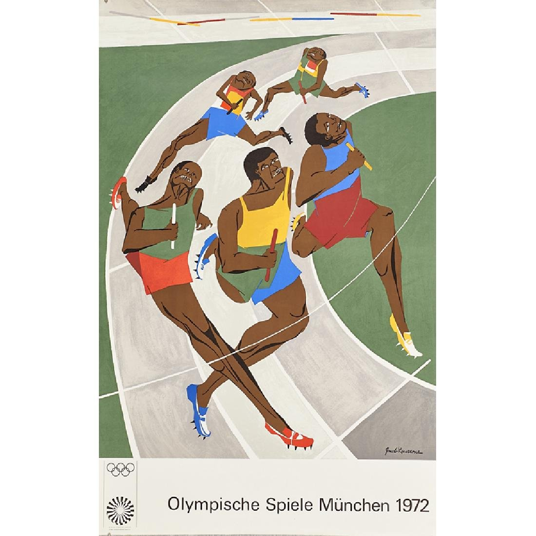 1972 MUNICH OLYMPIC POSTERS - 2