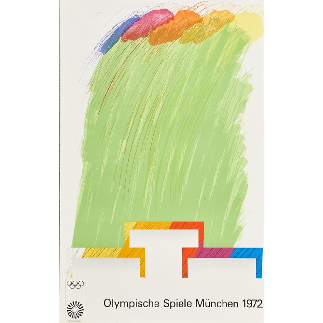 1972 MUNICH OLYMPIC POSTERS - 4