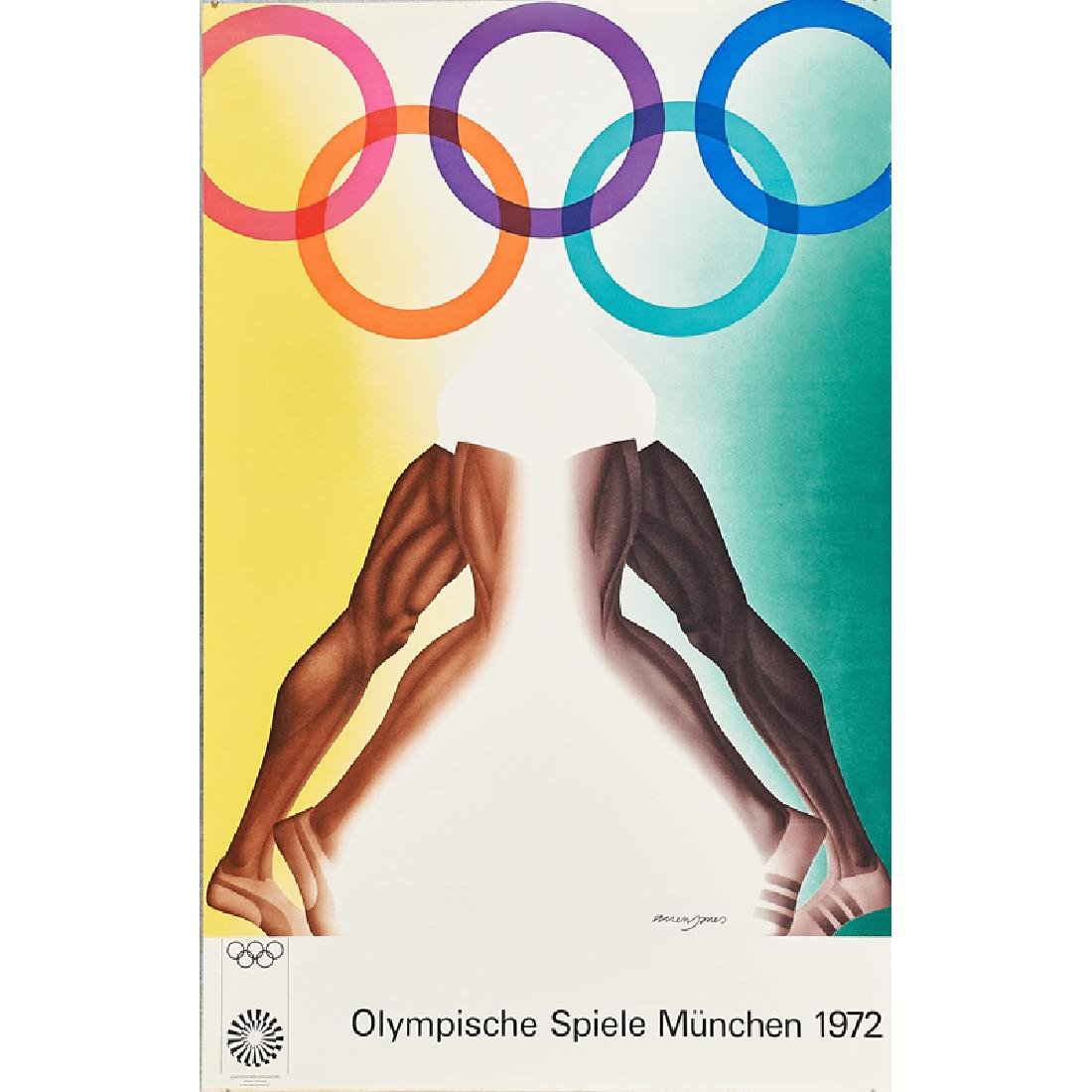 1972 MUNICH OLYMPIC POSTERS - 5