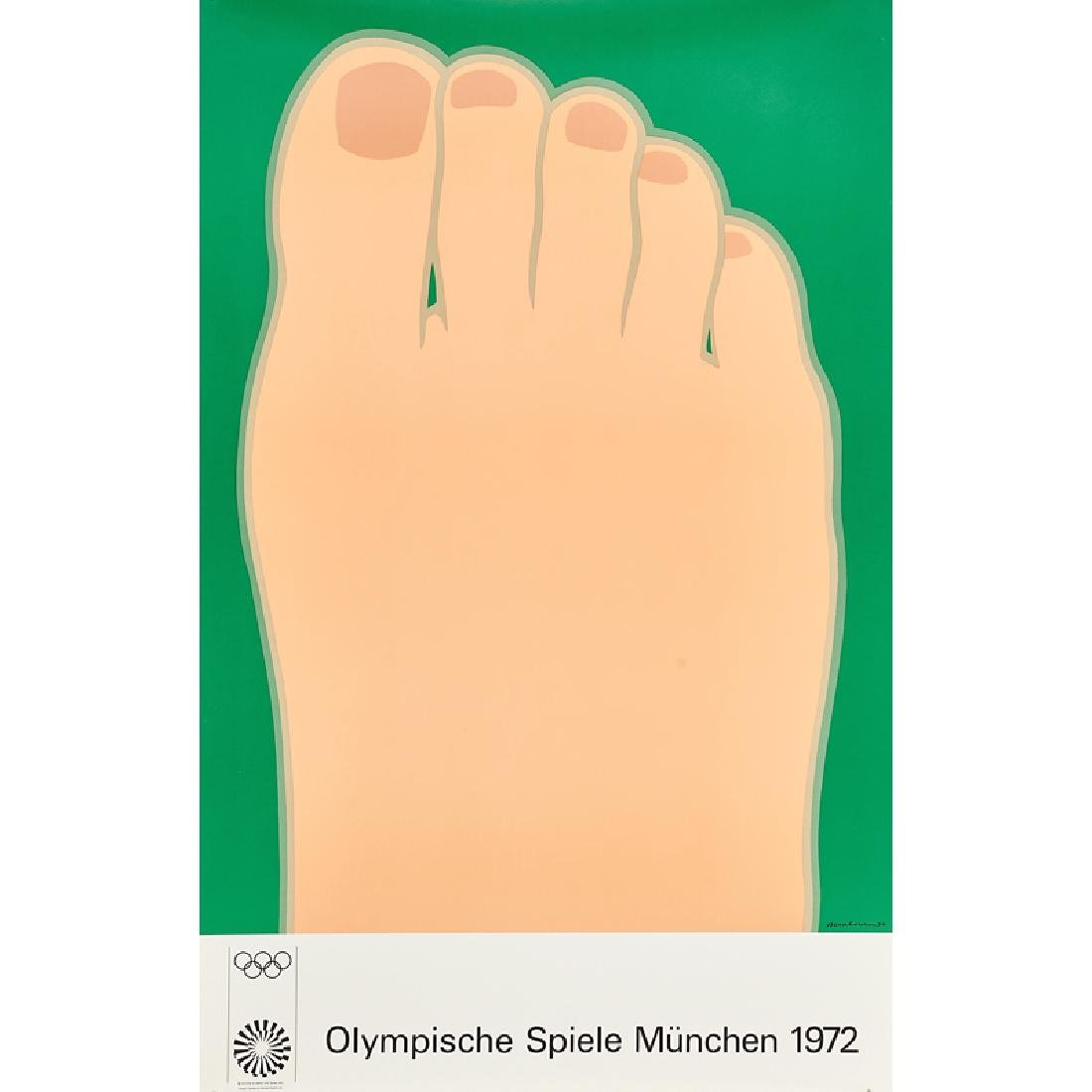 1972 MUNICH OLYMPIC POSTERS - 6