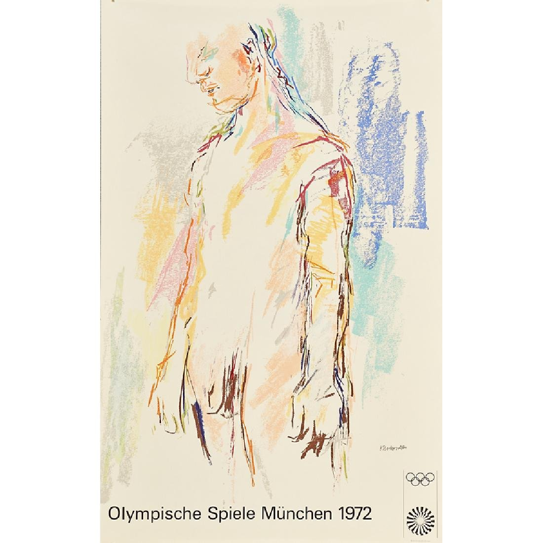 1972 MUNICH OLYMPIC POSTERS - 7