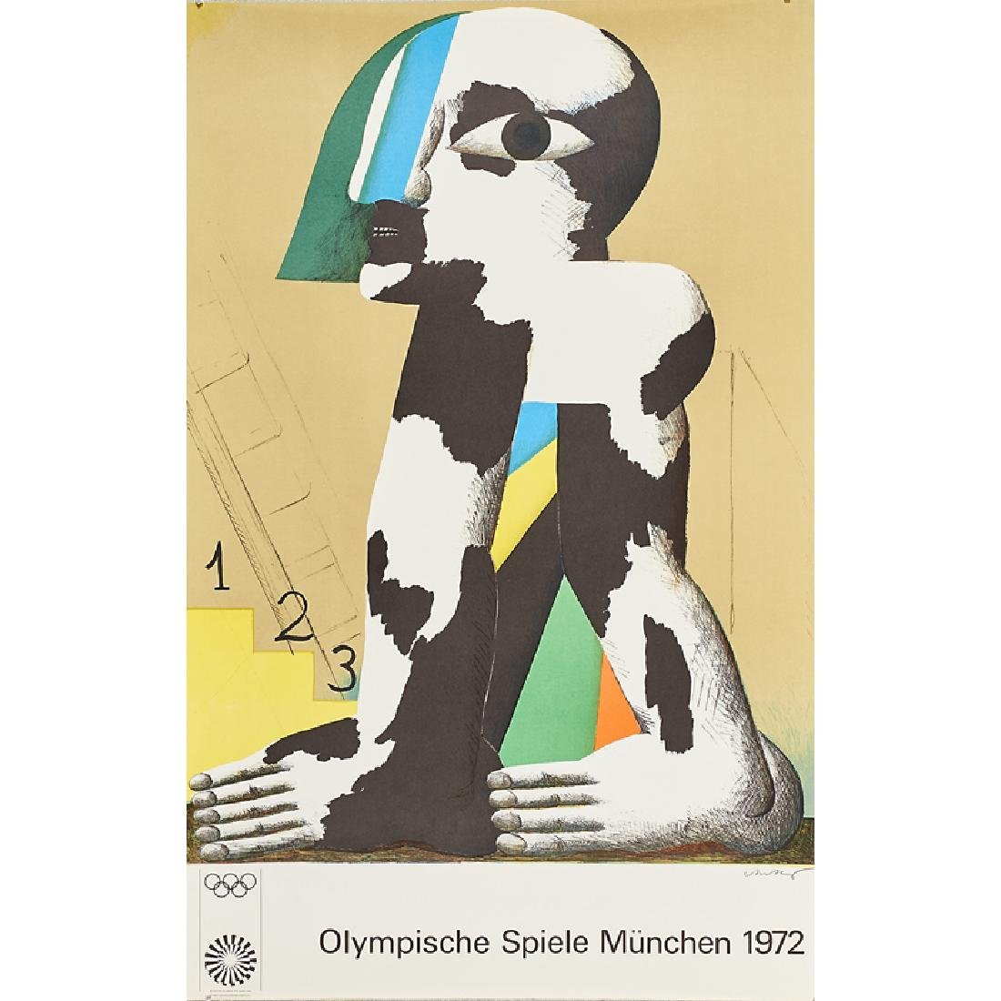 1972 MUNICH OLYMPIC POSTERS - 9