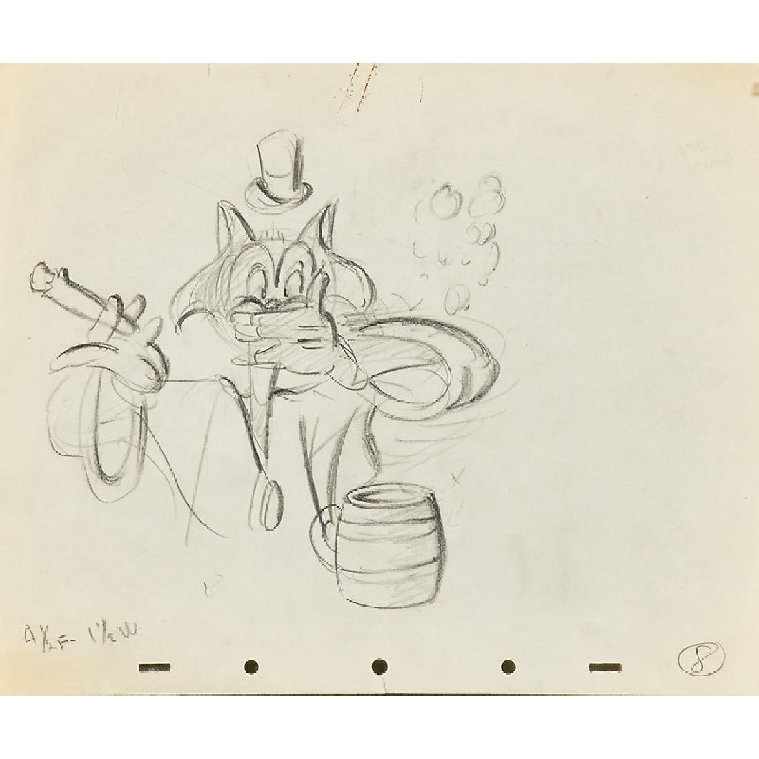 WALT DISNEY ORIGINAL PRODUCTION SKETCHES