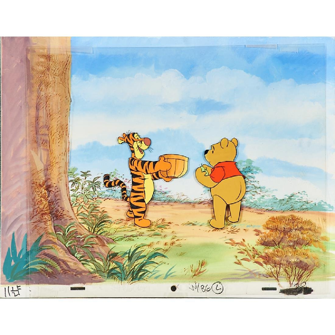 WALT DISNEY TELEVISION ORIGINAL PRODUCTION CELS