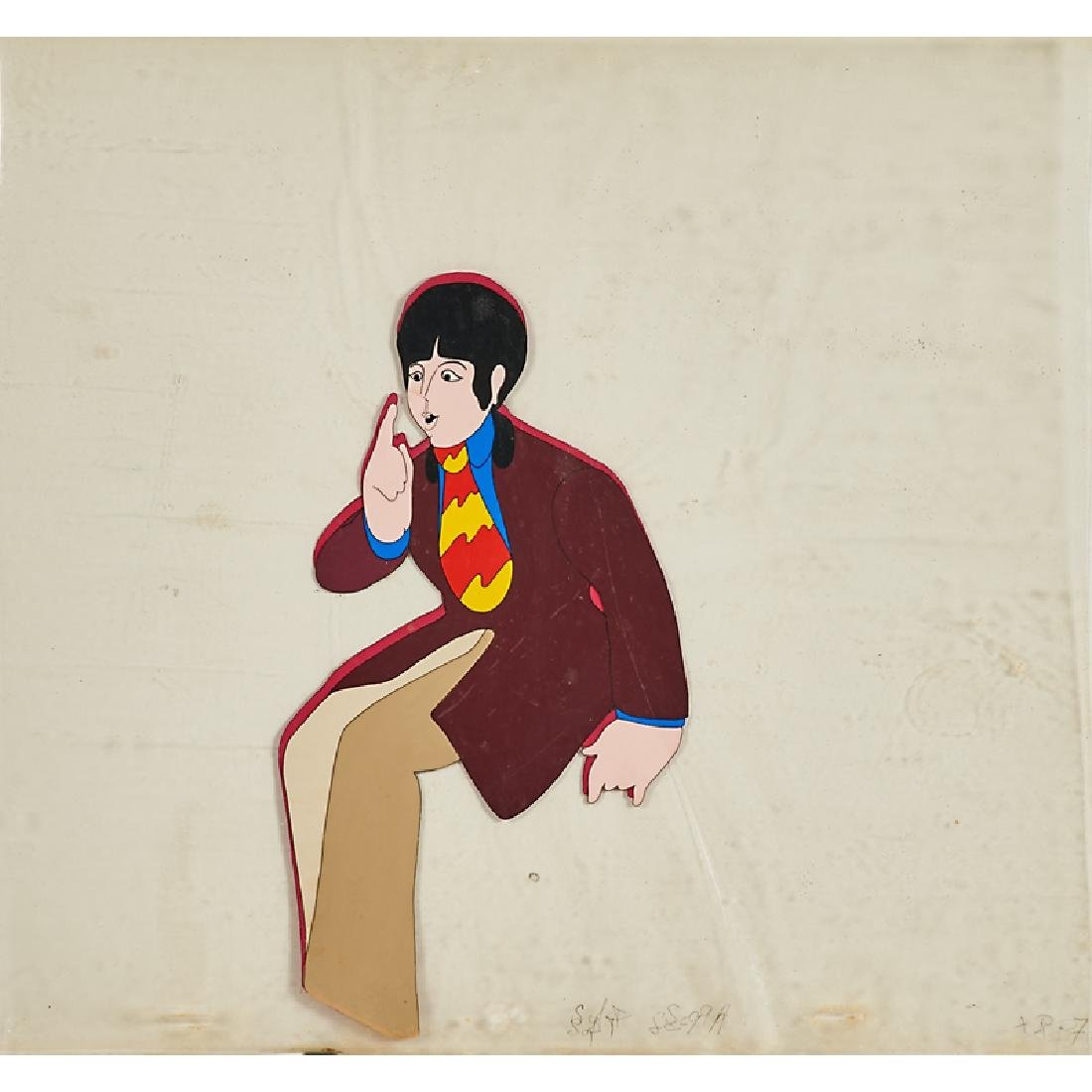 THE BEATLES YELLOW SUBMARINE PRODUCTION CELS