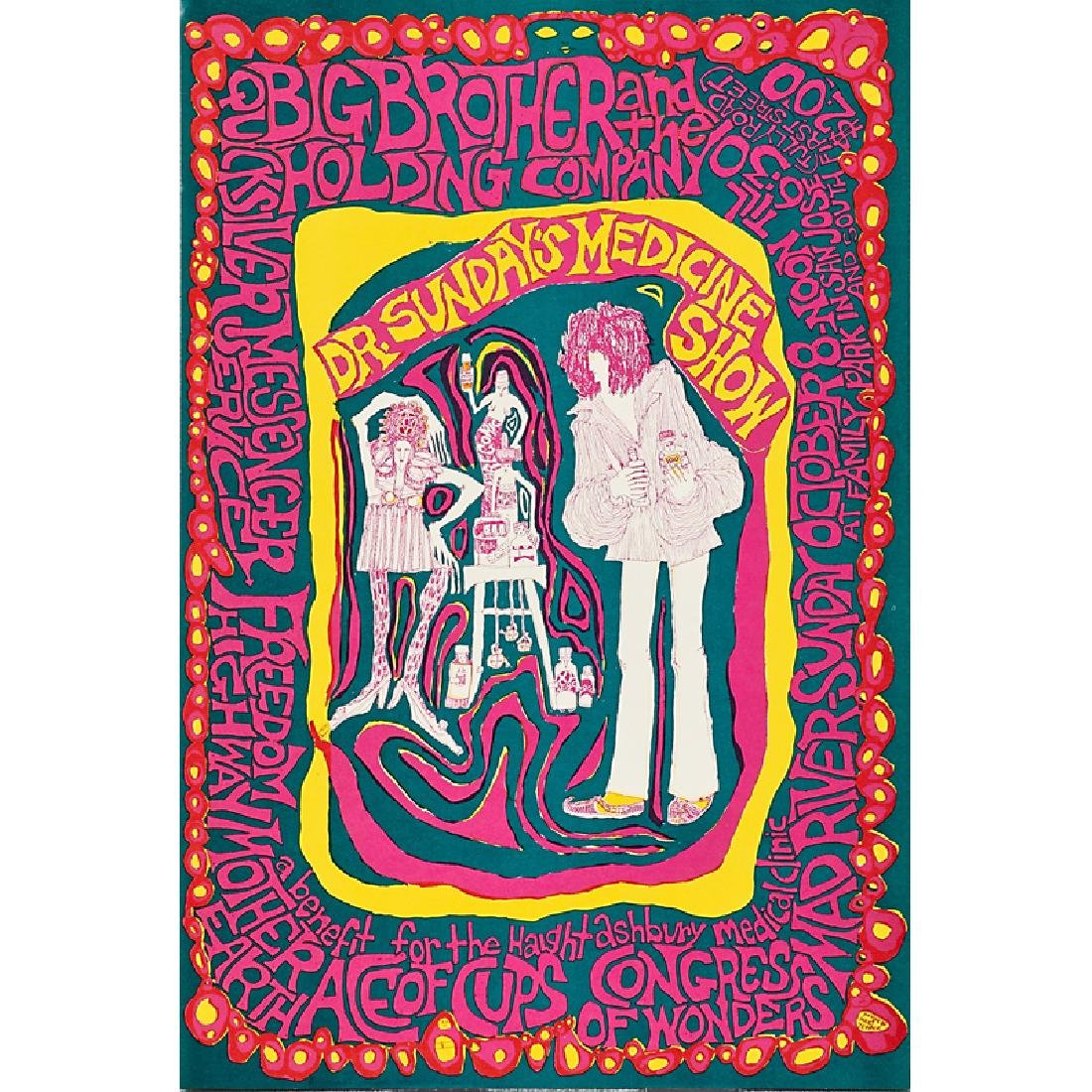MARI TEPPER PSYCHEDELIC POSTER
