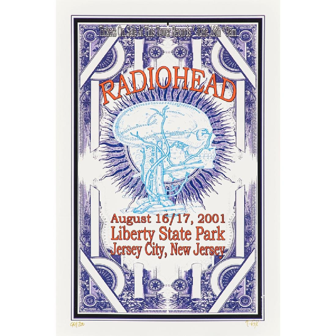 COLLECTION OF CONTEMPORARY CONCERT POSTERS