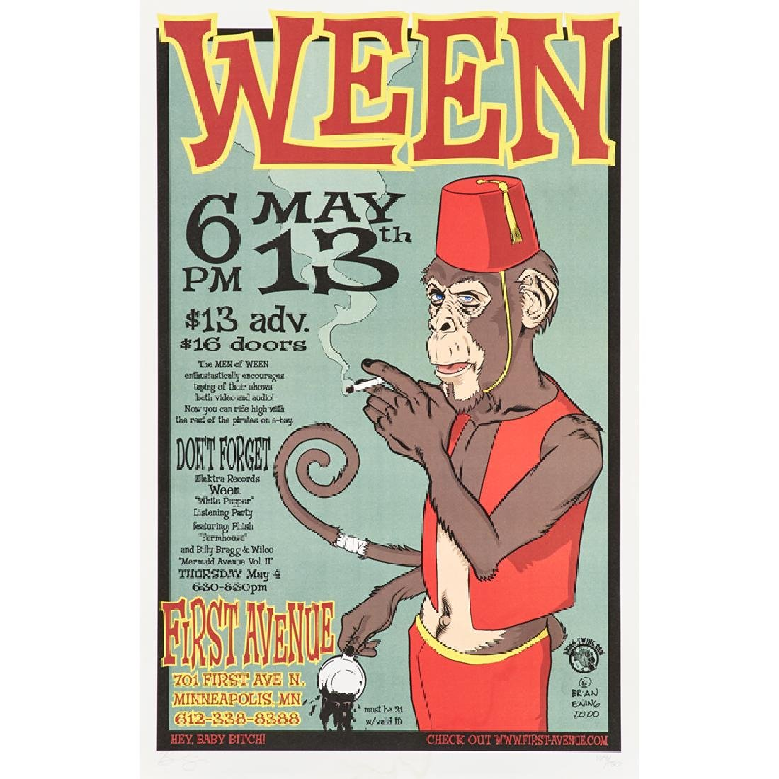 CONTEMPORARY CONCERT POSTER
