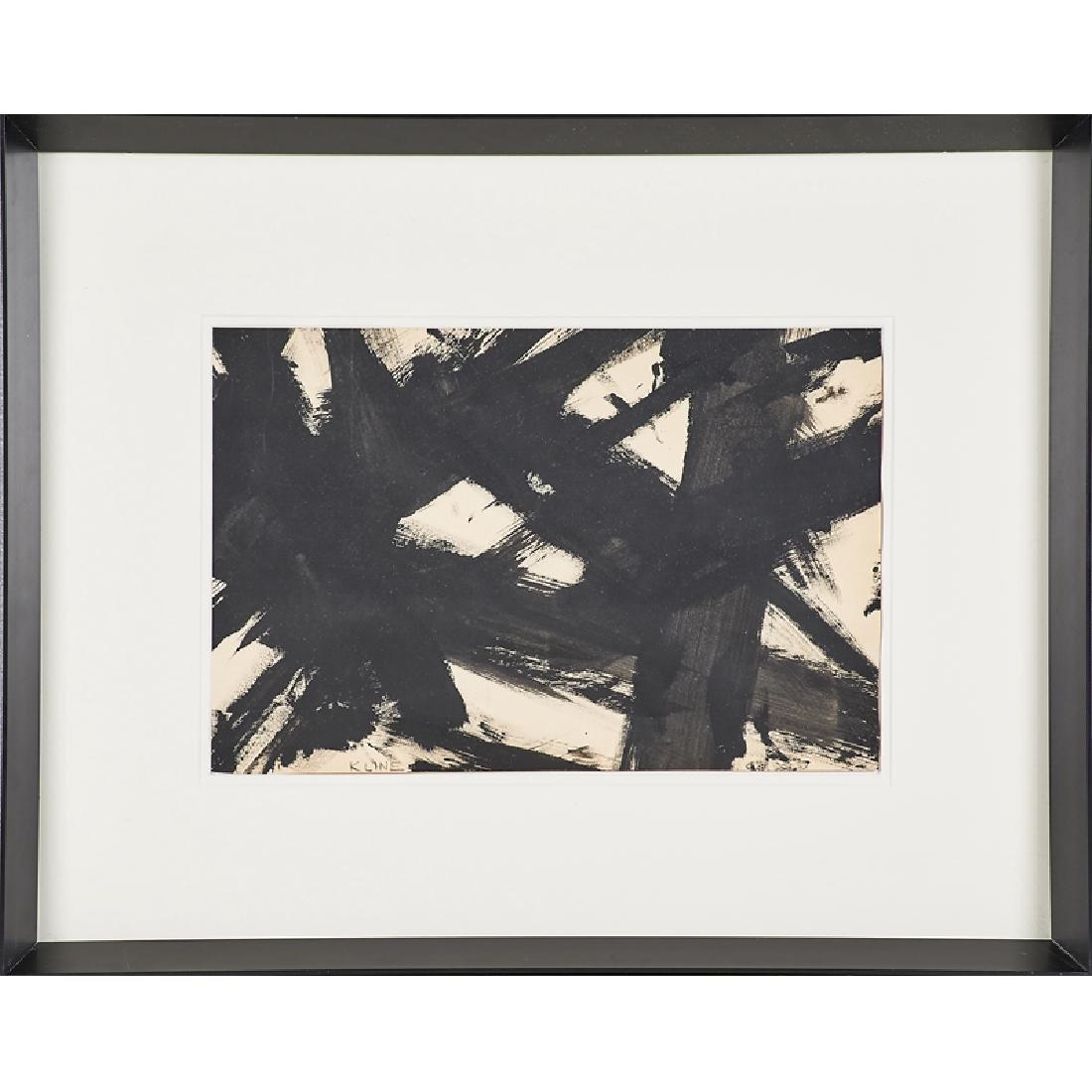 STYLE OF FRANZ KLINE (American, 1910-1962)