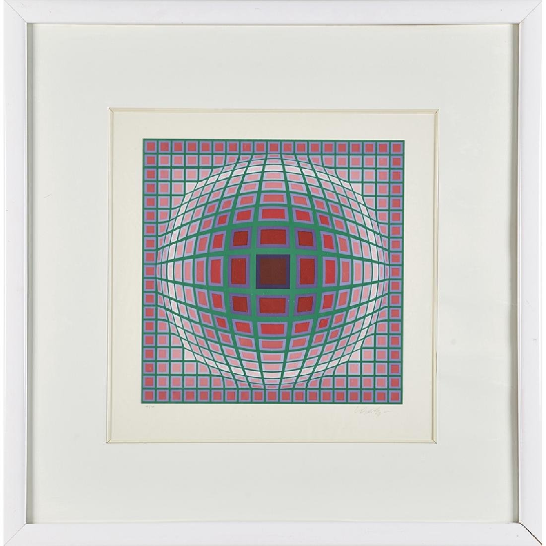 VICTOR VASARELY (French/Hungarian, 1908-1997)