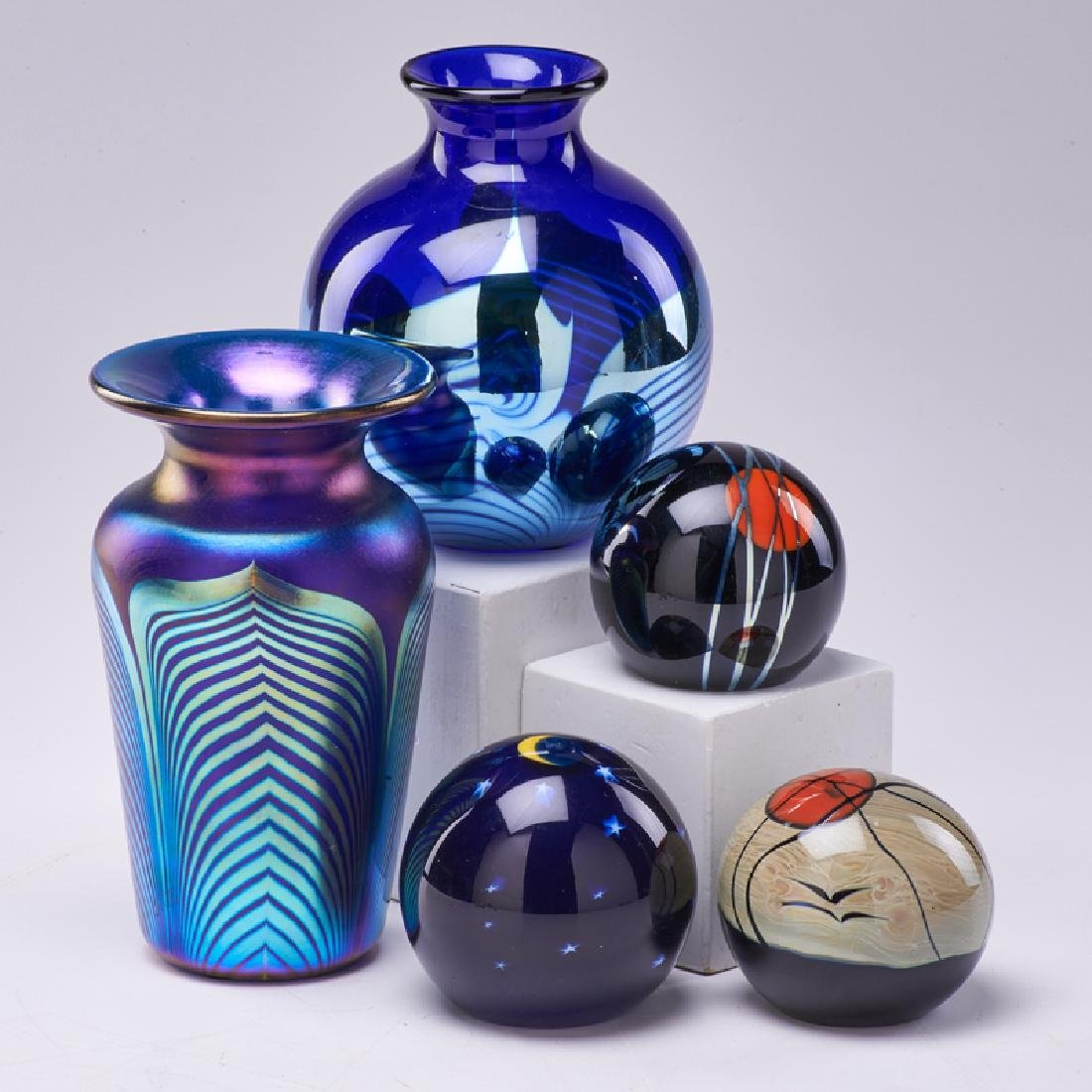 CORREIA ART GLASS; LUNDBERG STUDIO