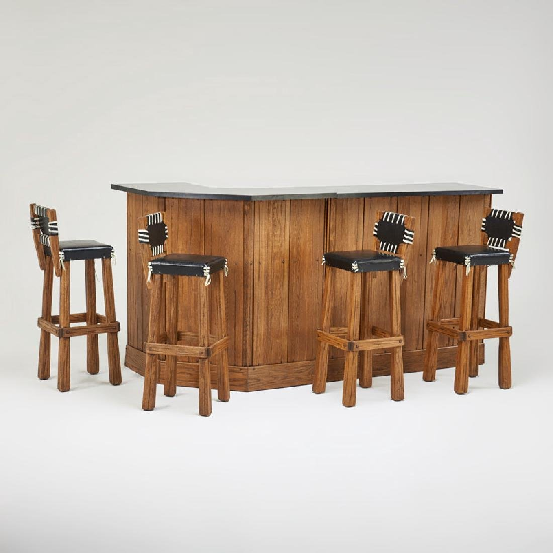 A. BRANDT; RANCH OAK FURNITURE