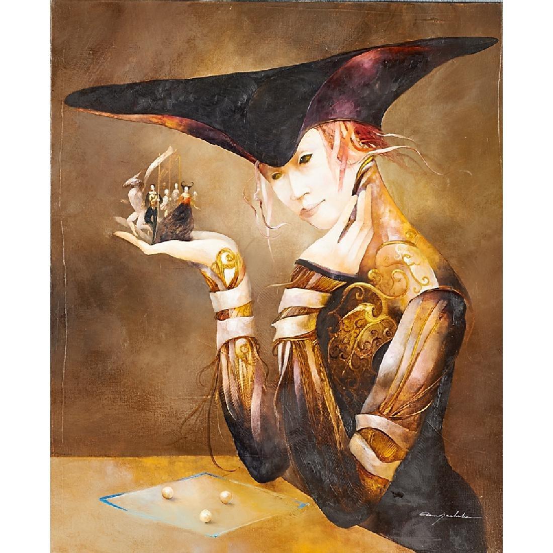 ANNE BACHELIER (French, b. 1949)
