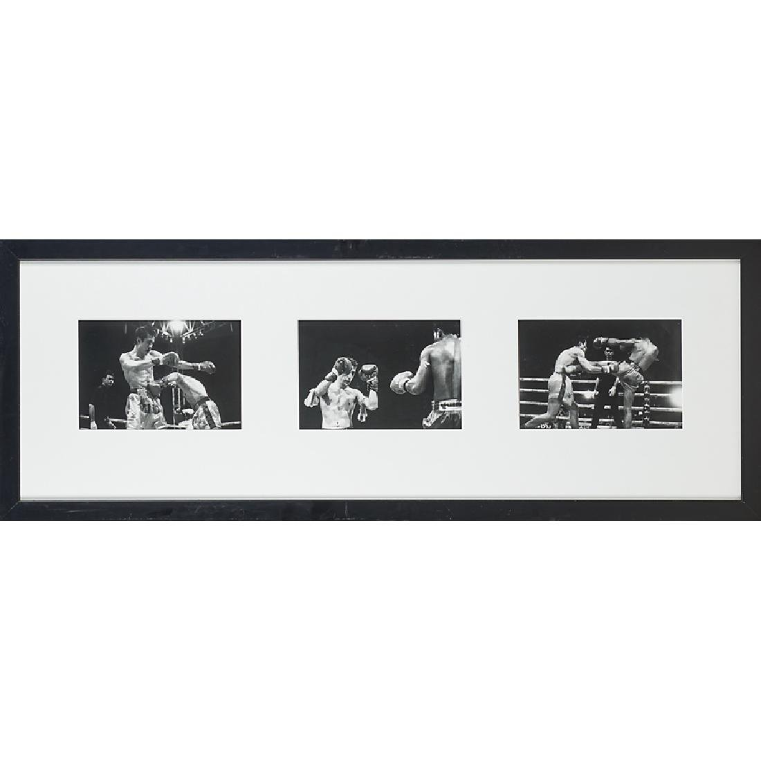 THAI BOXING PHOTOGRAPHY TRIPTYCH