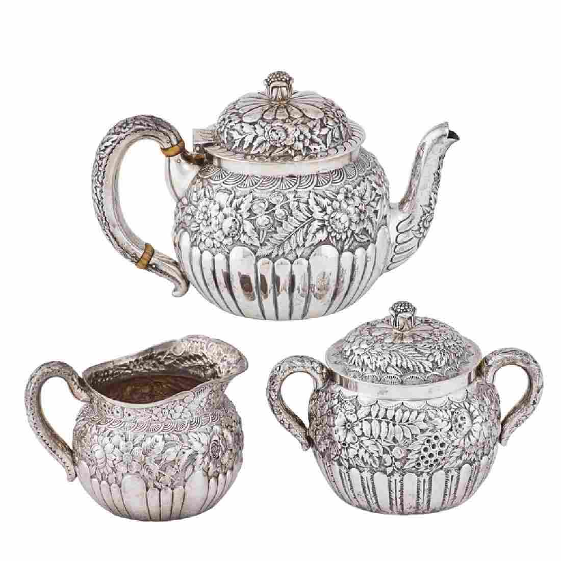 TIFFANY & CO. STERLING SILVER TEA SET