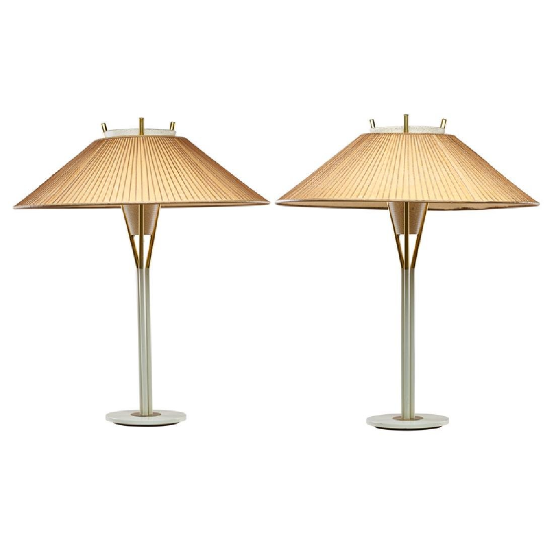GERALD THURSTON FOR LIGHTOLIER TABLE LAMPS