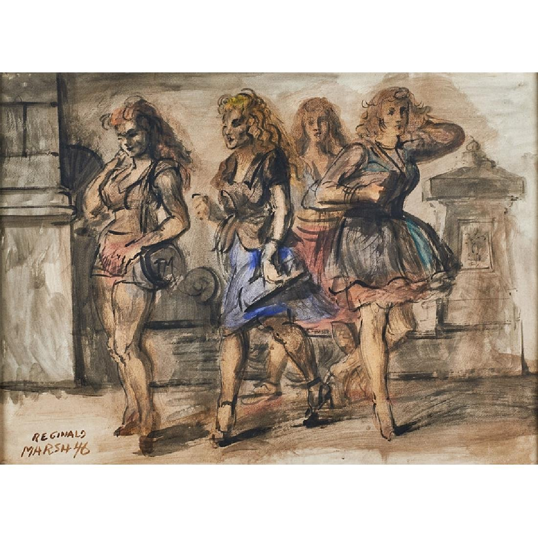 Reginald Marsh (American, 1898-1954)