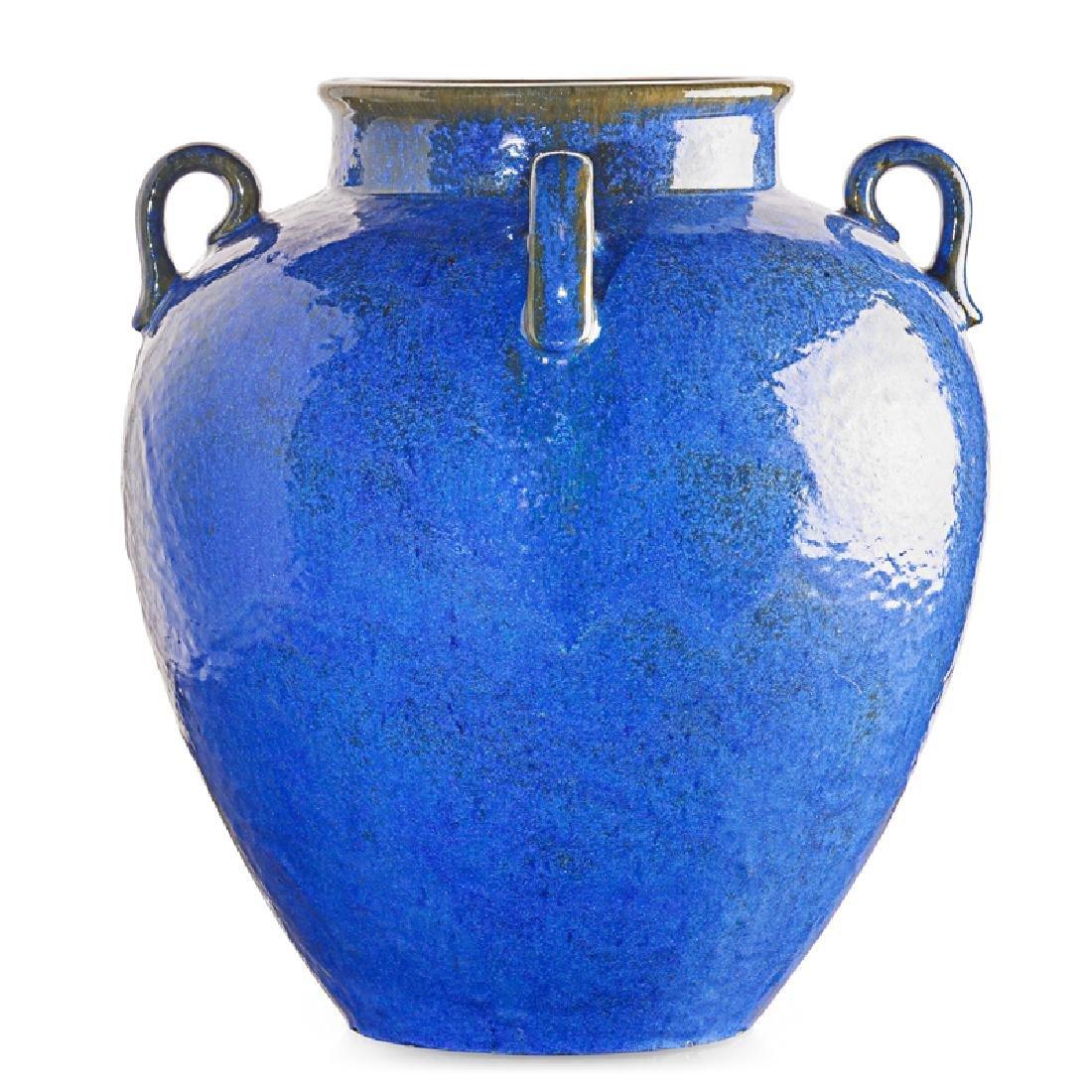 FULPER Large Venetian Blue vase