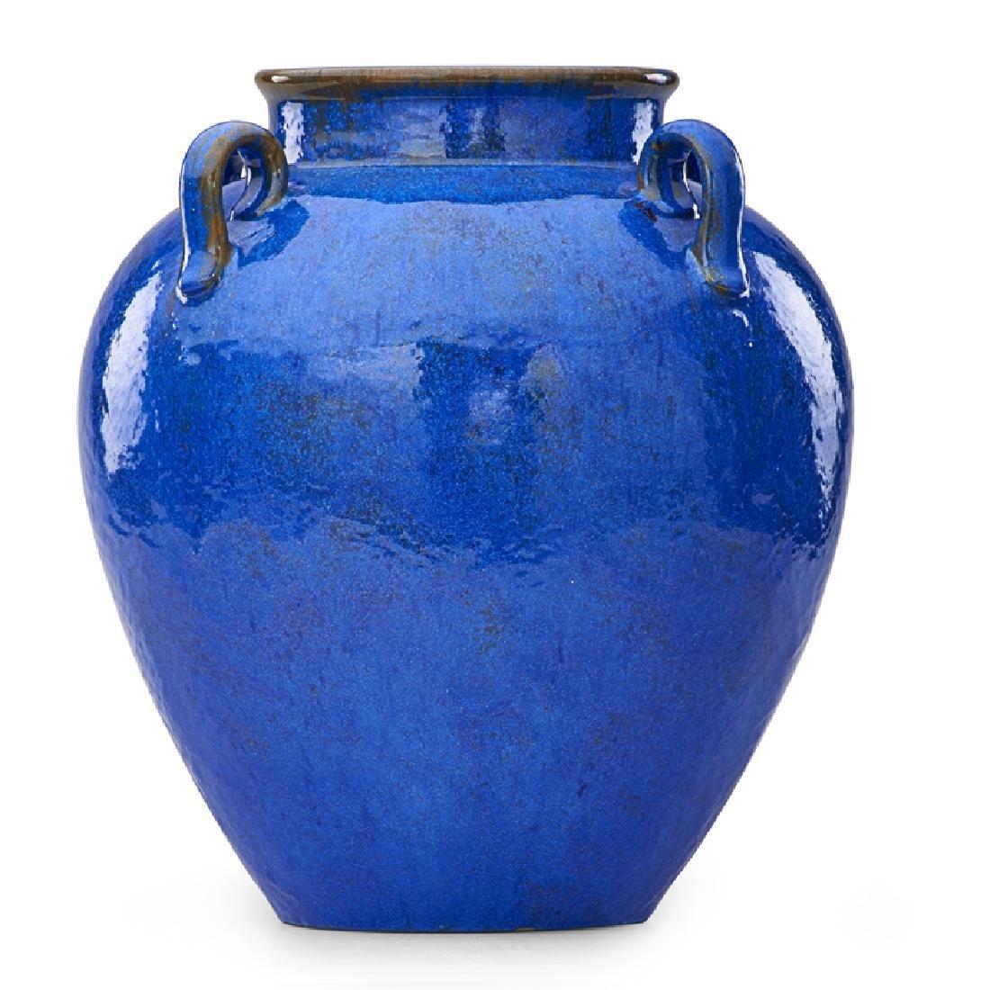 FULPER Large Venetian Blue vase - 2
