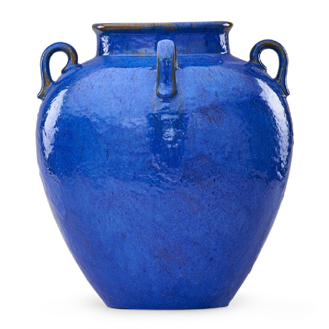 FULPER Large Venetian Blue vase - 3