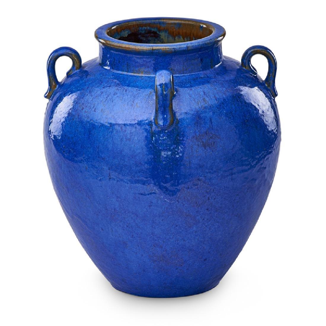FULPER Large Venetian Blue vase - 4