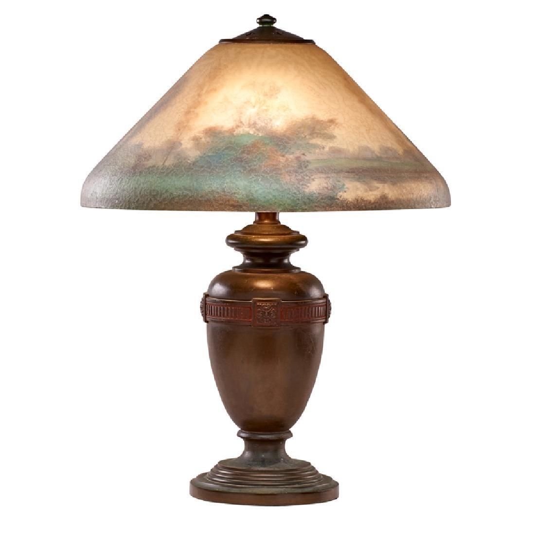 HANDEL Table lamp with lakeland scene - 2