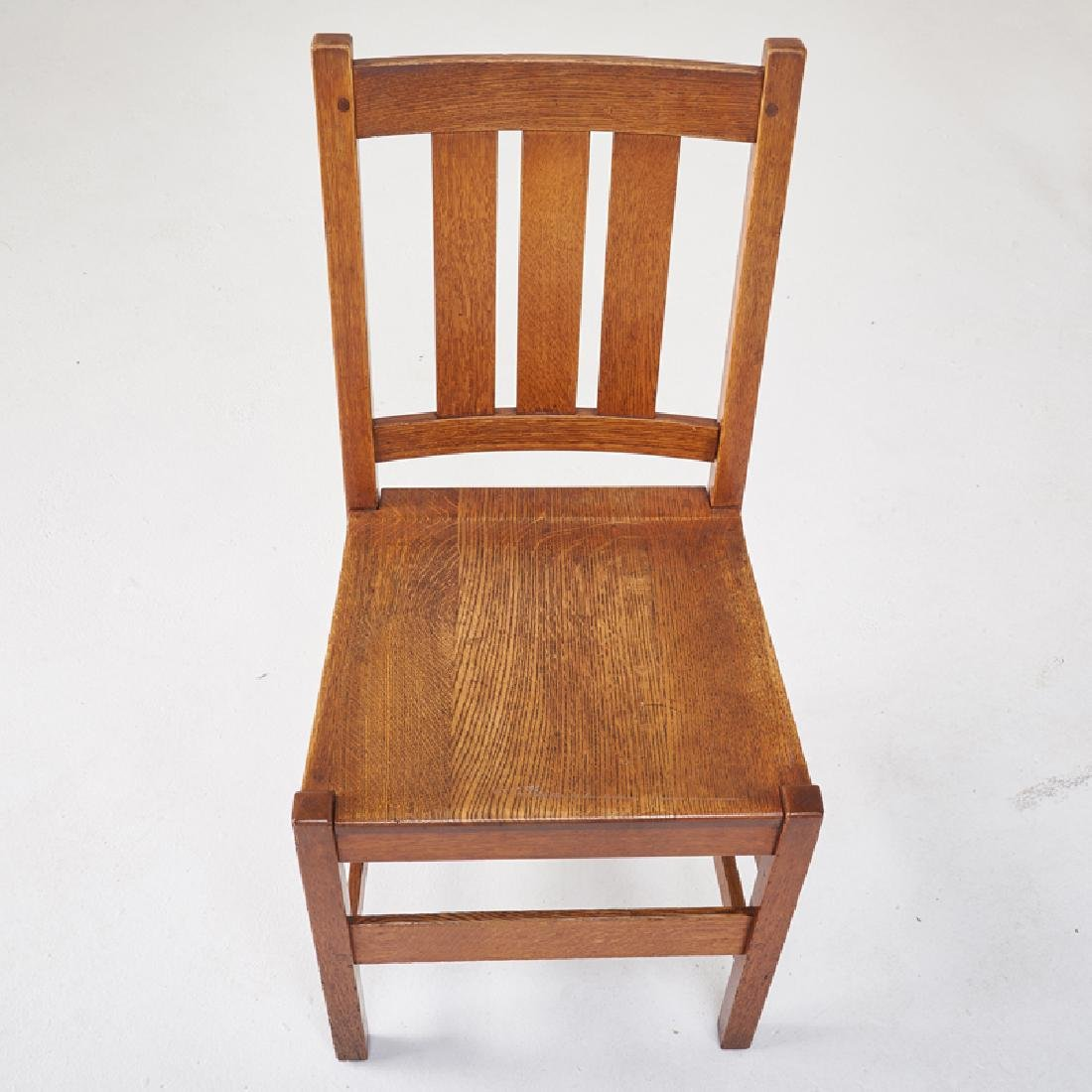 L. & J.G. STICKLEY Set of eight dining chairs - 7