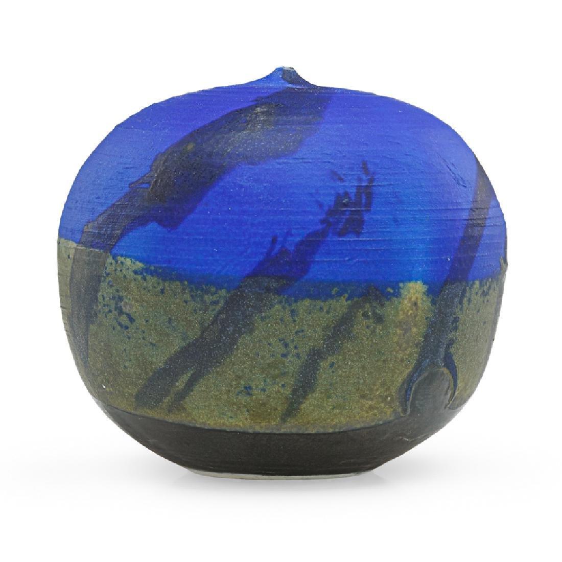 TOSHIKO TAKAEZU Cobalt Moonpot