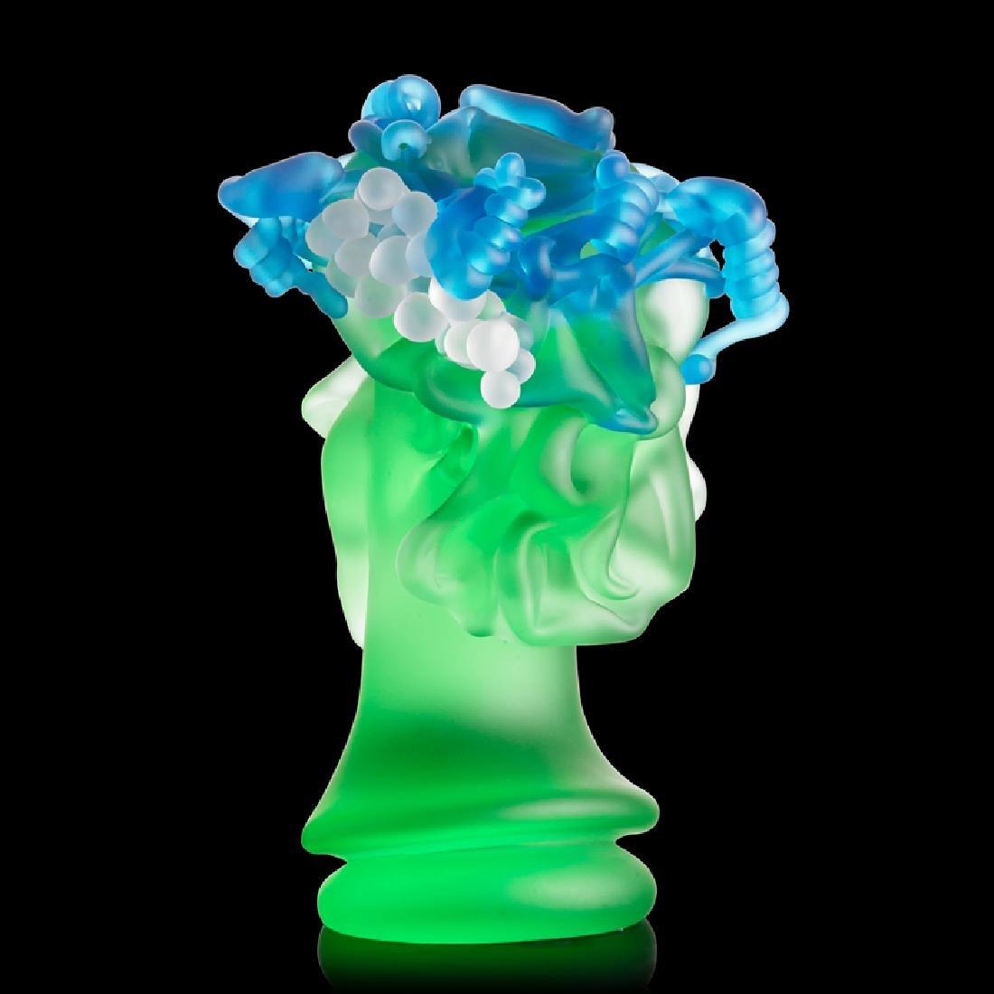 RICHARD JOLLEY Glass sculpture w/ grapes - 2