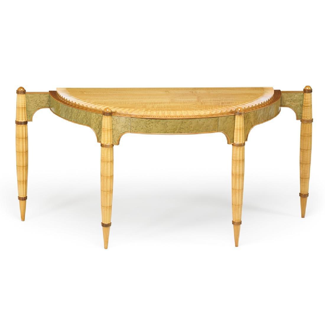 STEPHEN SMITH DANIELL Demi-lune table/desk