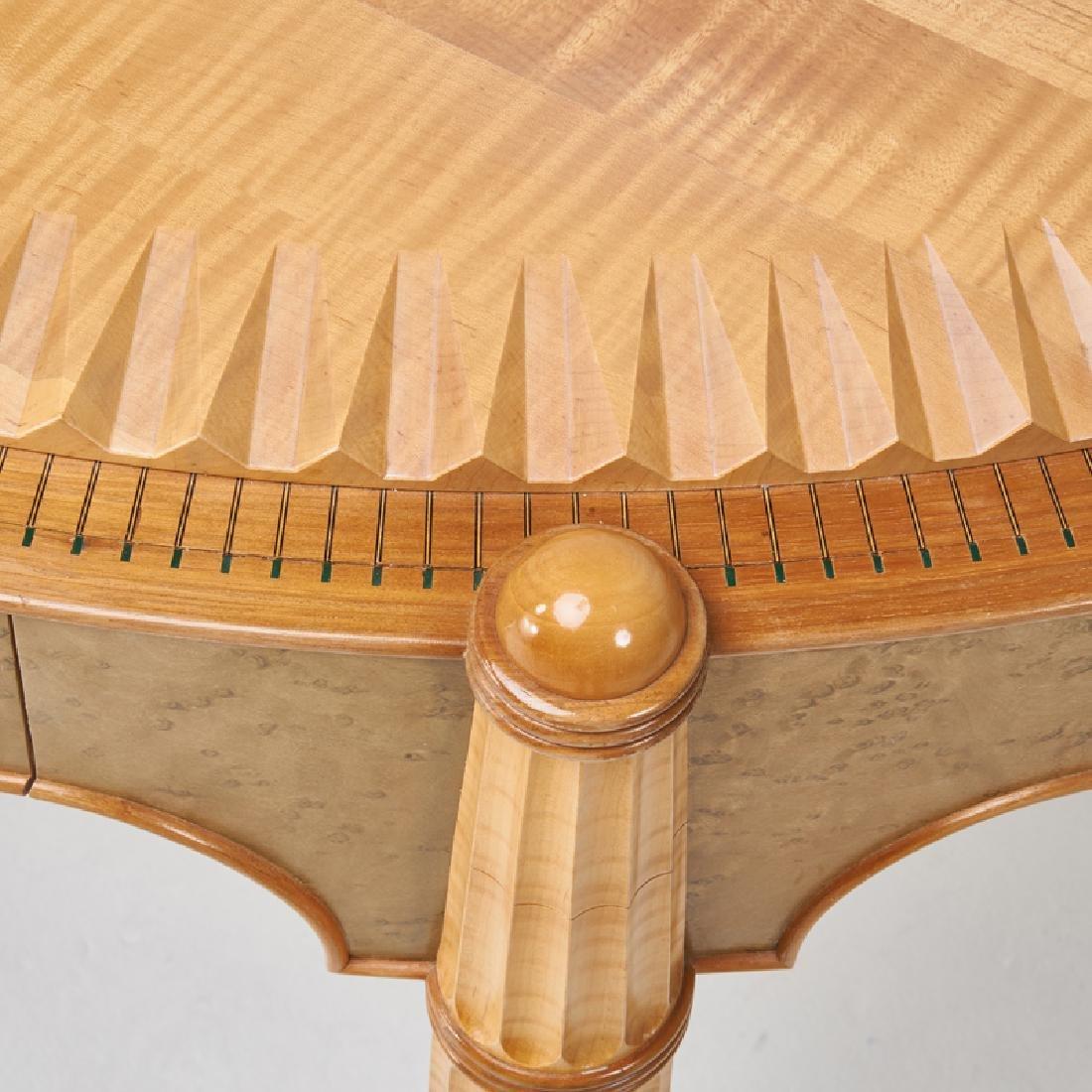 STEPHEN SMITH DANIELL Demi-lune table/desk - 6