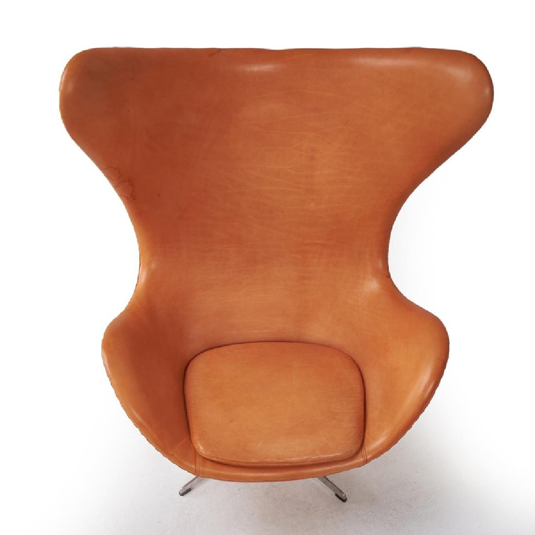 ARNE JACOBSEN  FRITZ HANSEN Egg chair and ottoman - 4
