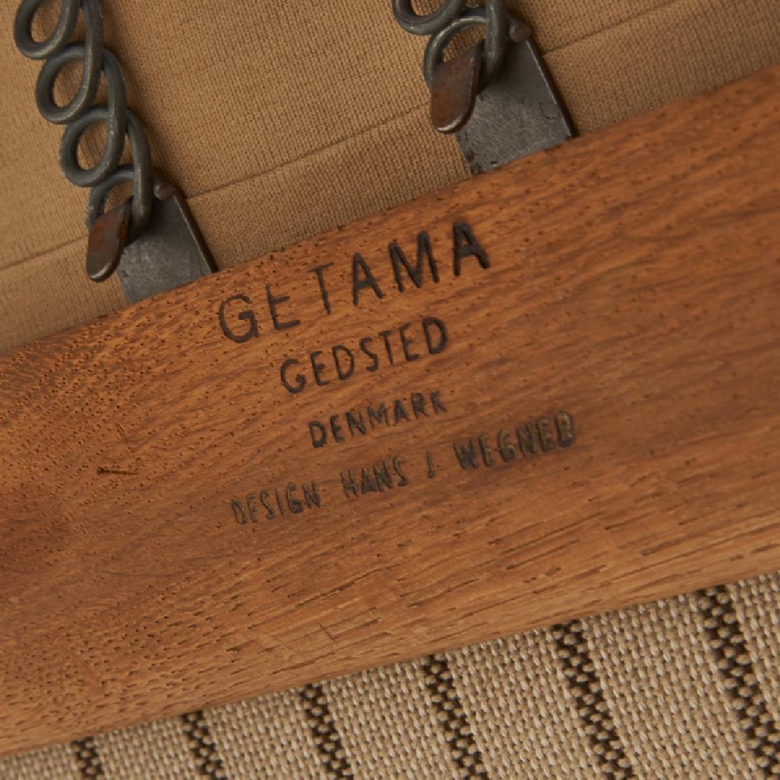 HANS WEGNER Paddle Arm Sofa - 5