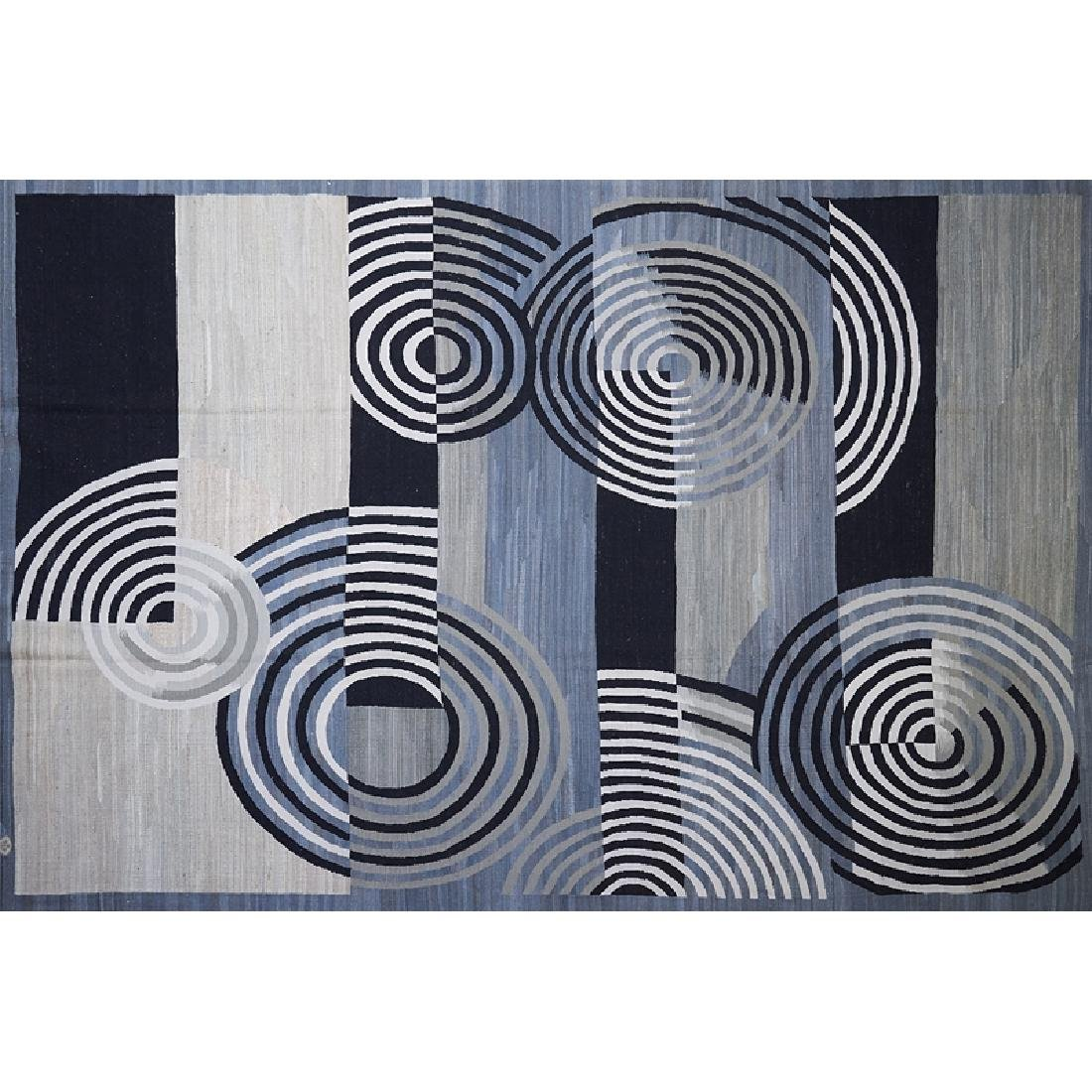 CONTEMPORARY FLATWEAVE RUG