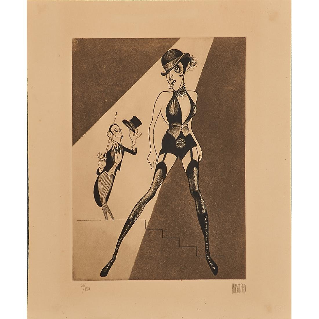 AL HIRSCHFELD (American, 1903-2003) - 4