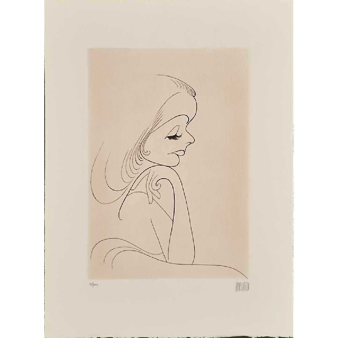 AL HIRSCHFELD (American, 1903-2003) - 2