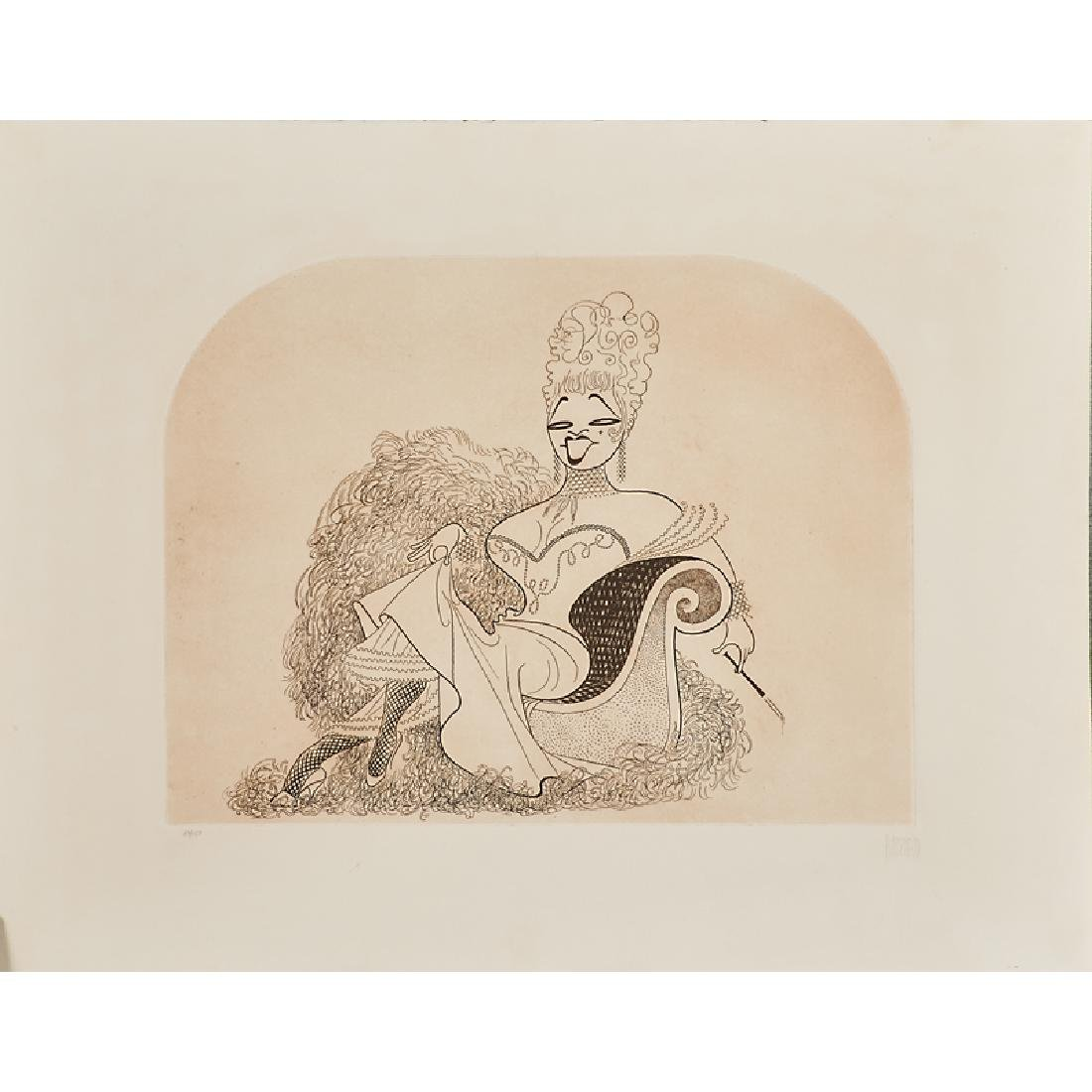 AL HIRSCHFELD (American, 1903-2003) - 3