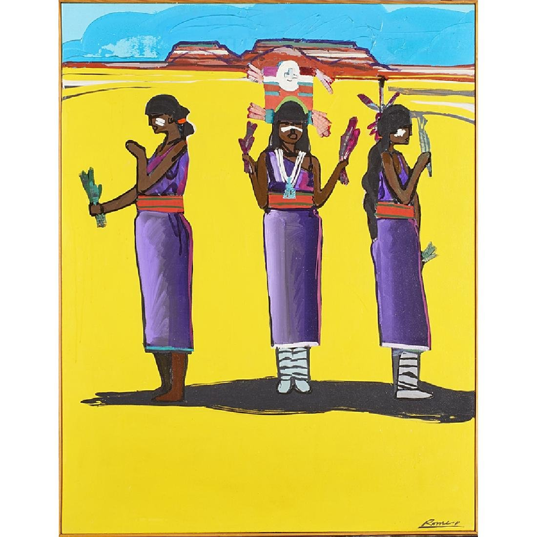 CONTEMPORARY SOUTHWESTERN PAINTING