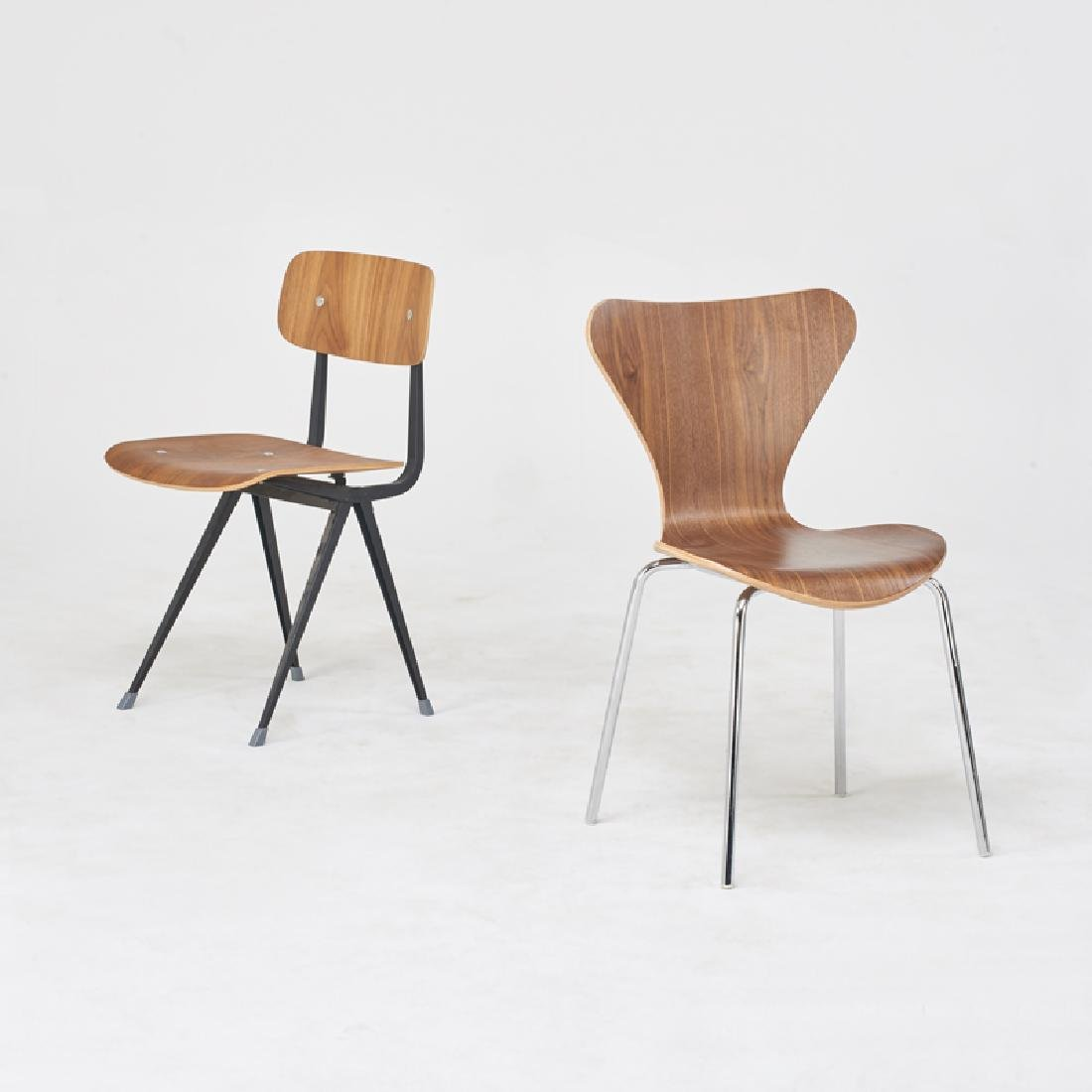 STYLE OF ARNE JACOBSEN & JEAN PROUVE