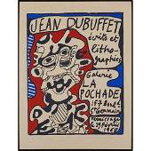 JEAN DUBUFFET French 19011985